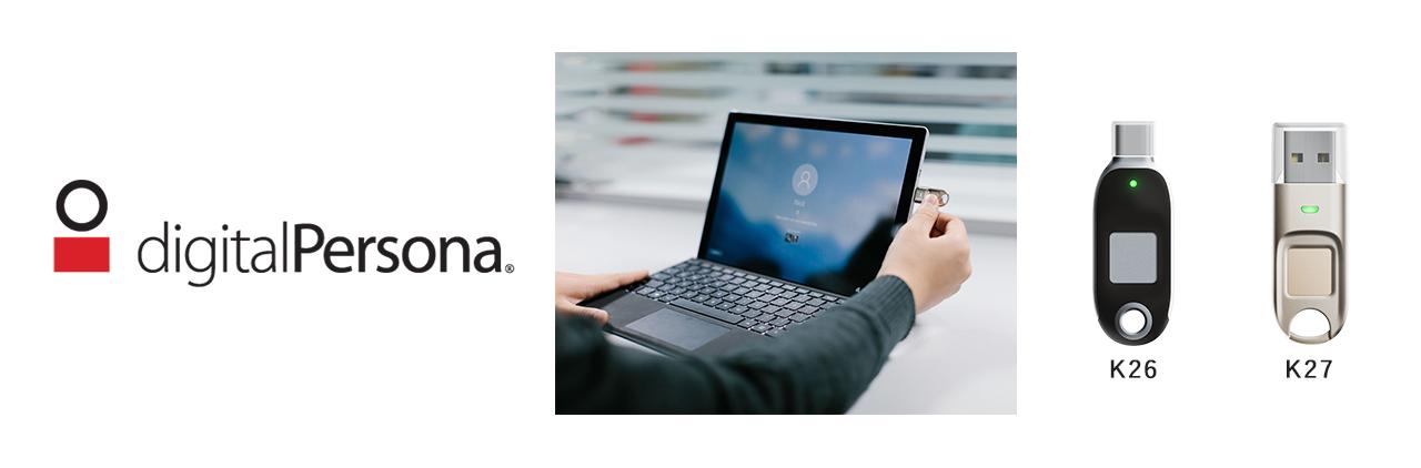 イワンデバイスによる「指紋認証」+「所持認証」の二要素認証を中央管理、PC認証を徹底強化